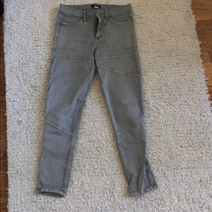 Light gray army style BDG pants